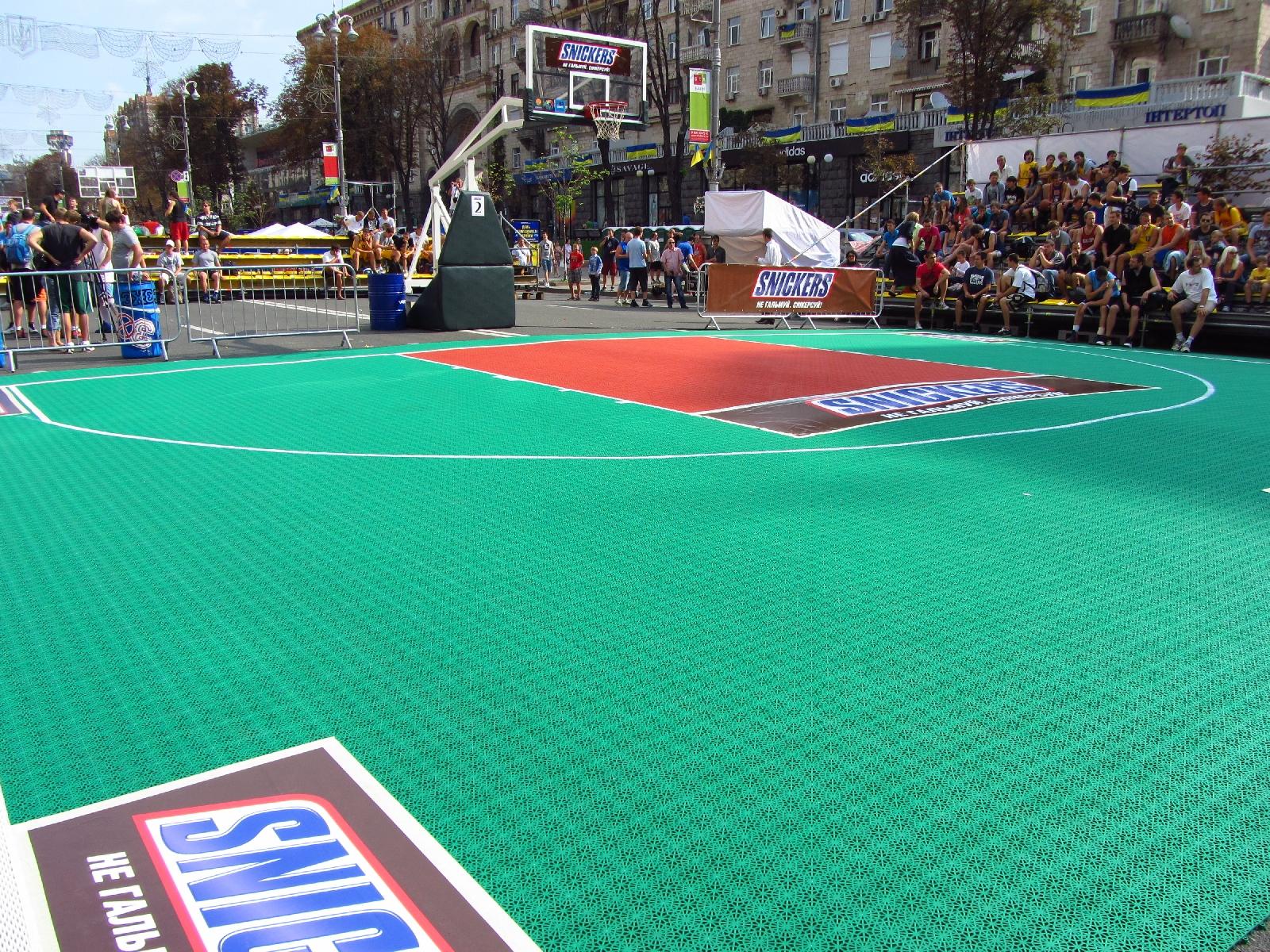 Киев, турнир по стритболу