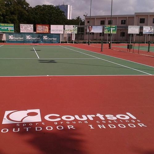Акриловое покрытие – Courtsol Standing