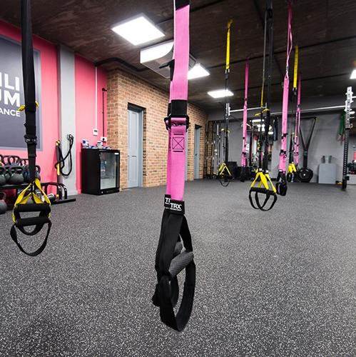 Резиновые покрытия – Kraiburg – Sportec pur Color