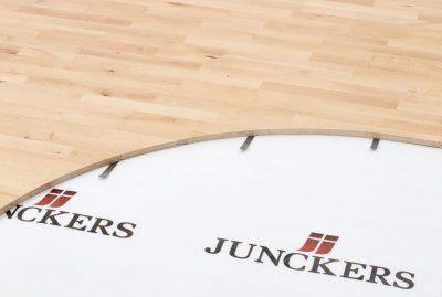 Спортивный паркет – Junckers – Clip system